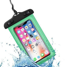 Load image into Gallery viewer, Universal Waterproof iPhone Case Elite Fitness Essentials Green