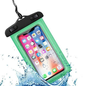 Universal Waterproof iPhone Case Elite Fitness Essentials Green