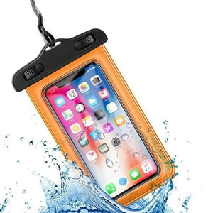 Universal Waterproof iPhone Case Elite Fitness Essentials Orange
