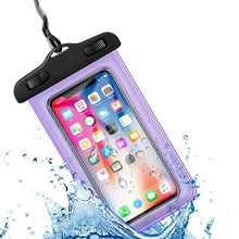 Load image into Gallery viewer, Universal Waterproof iPhone Case Elite Fitness Essentials Purple