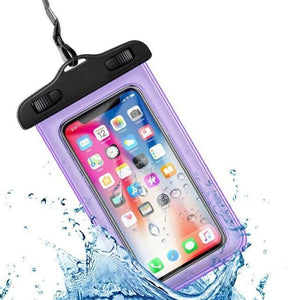 Universal Waterproof iPhone Case Elite Fitness Essentials Purple