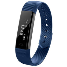 Load image into Gallery viewer, Waterproof Smart Fitness Tracker - CLOSE OUT Elite Fitness Essentials Blue