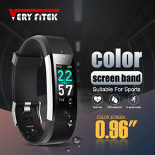 Load image into Gallery viewer, Waterproof Fitness Tracker w/ HR Monitor For Swimming - Elite Fitness Essentials