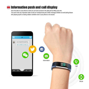 Waterproof Fitness Tracker w/ HR Monitor For Swimming - Elite Fitness Essentials