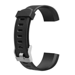 Waterproof Smart Fitness Tracker w/ HR Monitor Replacement Band Elite Fitness Essentials Black
