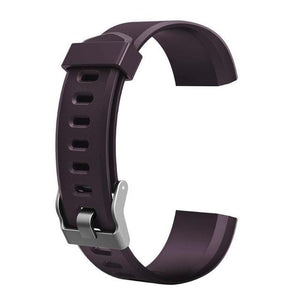 Waterproof Smart Fitness Tracker w/ HR Monitor Replacement Band Elite Fitness Essentials Purple