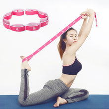 Load image into Gallery viewer, Yoga Stretching Belt Elite Fitness Essentials