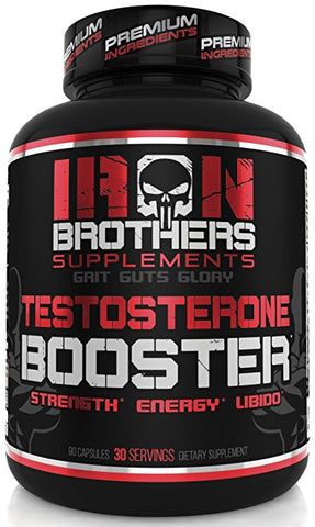 Iron Brothers Testosterone Booster for Men