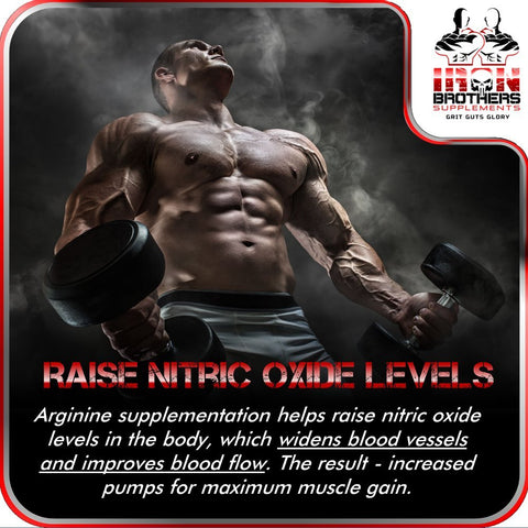 Front Image of Iron Brothers Testosterone Booster With Nitric Oxide Booster