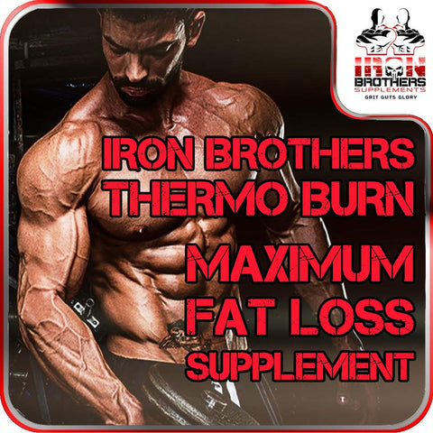 Front Main Image Iron Brothers Supplements Thermogenic Fat Burner With Testosterone Booster