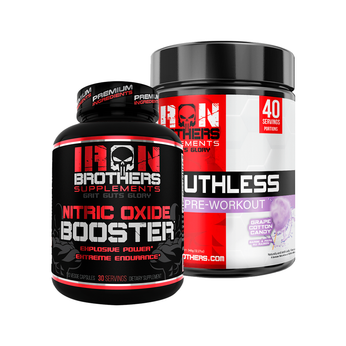 Ruthless Pre-Workout & Nitric Oxide Booster - Iron Brothers Supplements