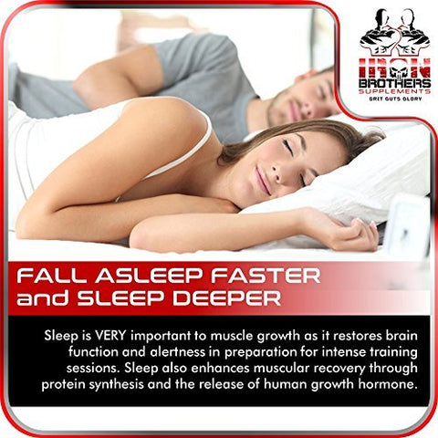 Front Image of Iron Brothers Testosterone Booster With Comatose Sleep Aid Formula