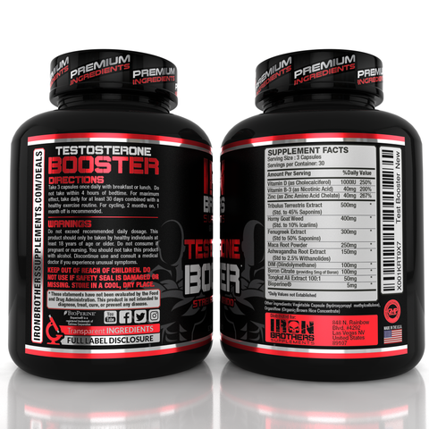 Testosterone Booster & Joint Support Stack