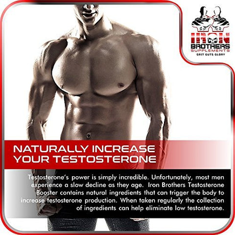 Front Image of Iron Brothers Testosterone Booster With Joint support