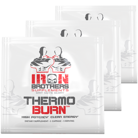 Thermogenic Fat Burner - 3 Sample Packs - Iron Brothers Supplements