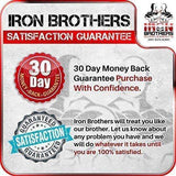 Iron Brothers 30 Day Money Back And Satisfaction Guarantee Sticker