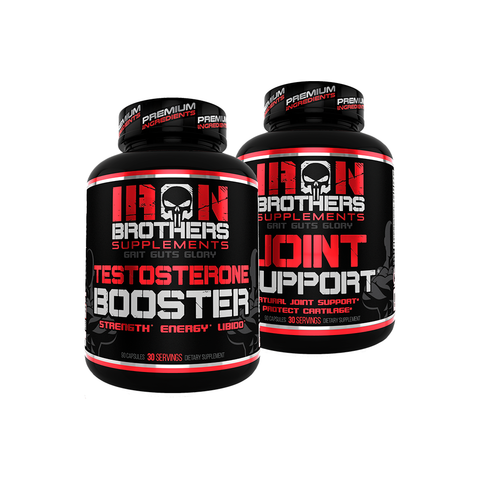 Testosterone Booster & Joint Support Stack - Iron Brothers Supplements