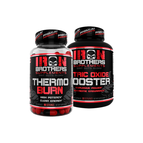 Thermo Burn & Nitric Oxide Booster Stack - Iron Brothers Supplements