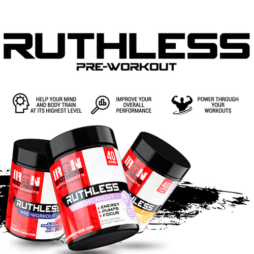 Iron Brothers Supplements Thermogenic Fat Burner