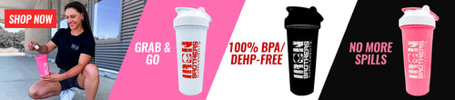 Iron Brothers Supplements All New Shaker Cups