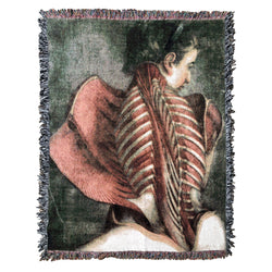 Muscles of the Back XL Blanket