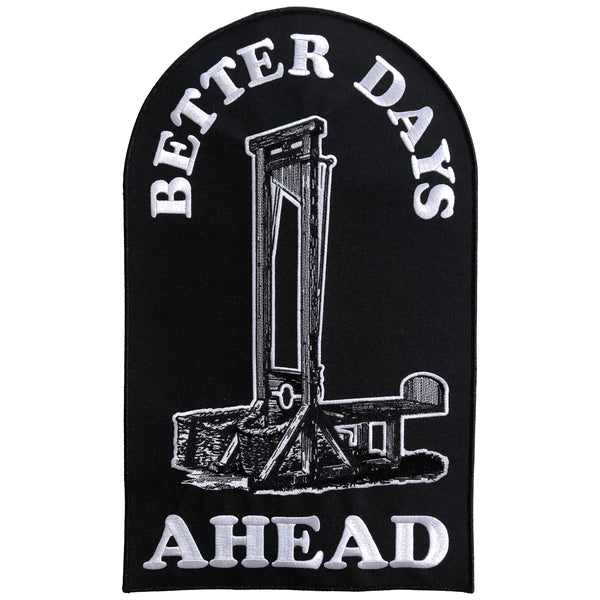 Better Days Ahead Back Patch