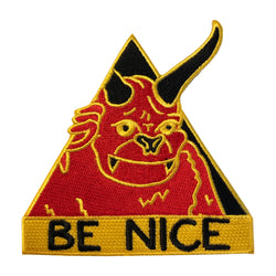 Be Nice Hook and Loop Patch