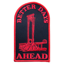 Better Days Ahead Hook and Loop Patch