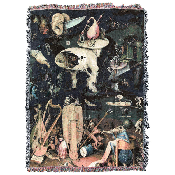 The Garden of Earthly Delights (Hell) XL Blanket