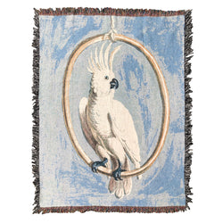 Sulphur-crested Cockatoo XL Blanket
