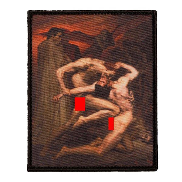 Dante and Virgil in Hell Patch