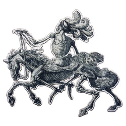 DEATH HORSE BACK PATCH