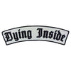 Dying Inside Black Reflective XL Rocker