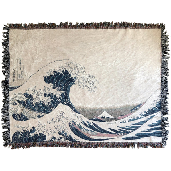 The Great Wave Off Kanagawa Blanket