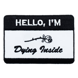 Hello Patch - Black