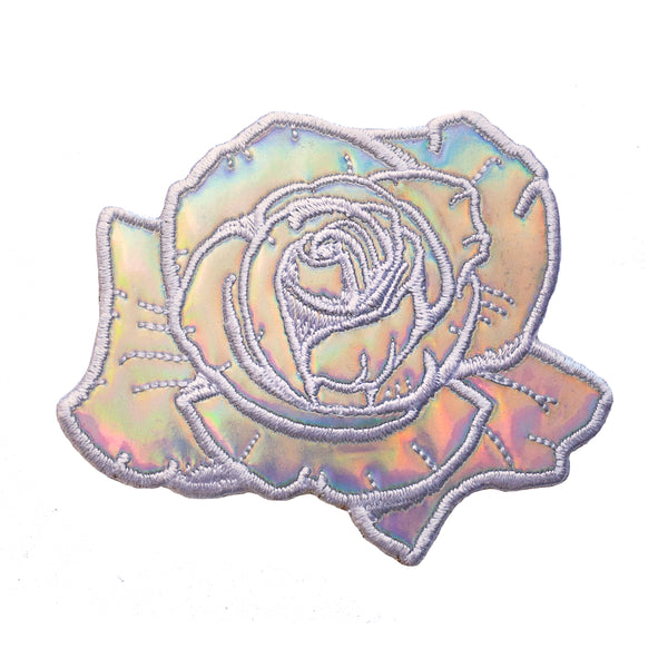 Holographic Rose Patch