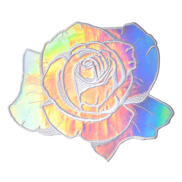 Holographic Rose Back Patch