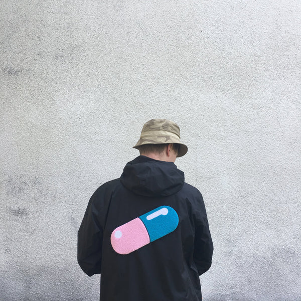 Capsule Back Patch