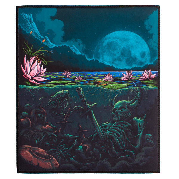 Lotus Pond Back Patch