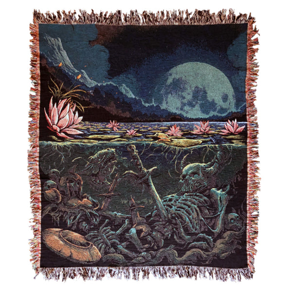 Lotus Pond Blanket