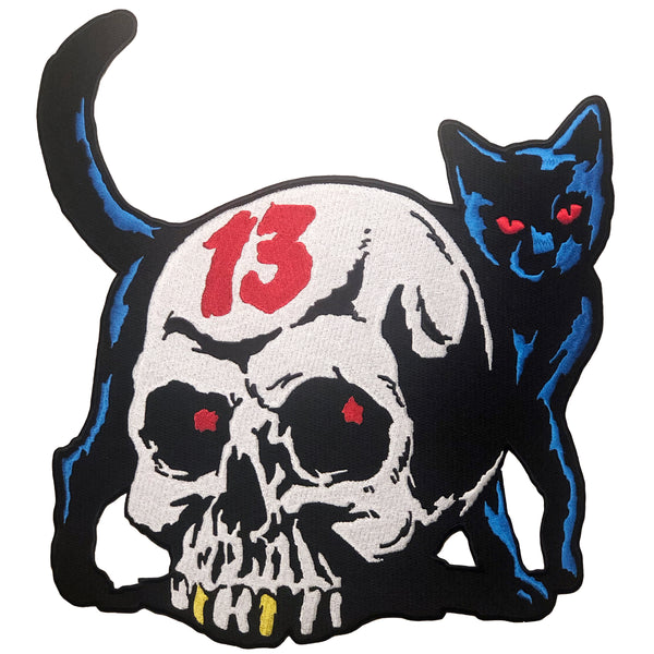 Park Bong Chill Lucky Cat Back Patch