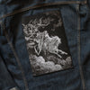 Death on the Pale Horse Back Patch