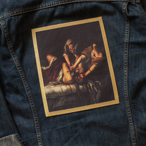 Judith Slaying Holofernes Back Patch