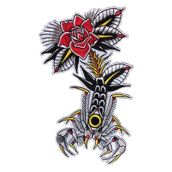 Mors Scorpion Rose Patch