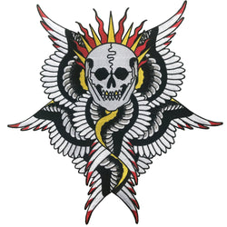 Mors Angel Back Patch
