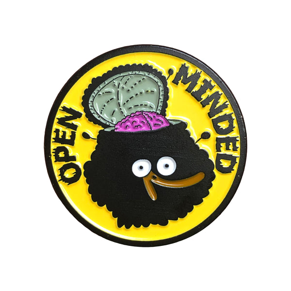 Open Minded Pin