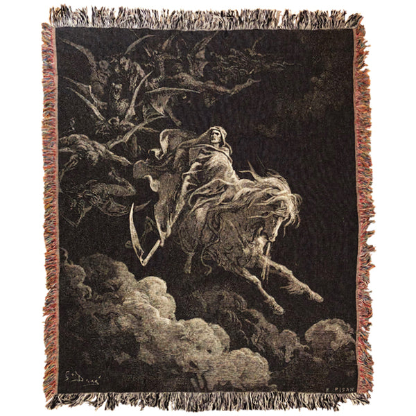 Death on the Pale Horse Blanket
