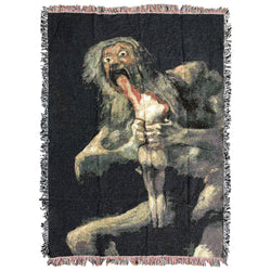 Saturn Devouring His Son XL Blanket