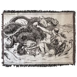 The Sea Maiden XL Blanket