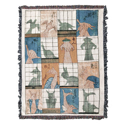 Eight Shadow Figures XL Blanket